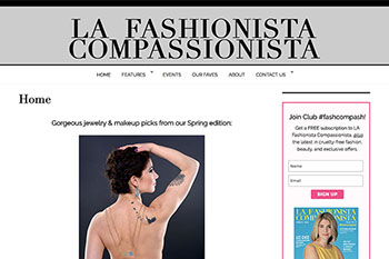 Featured work - Linda Albertini Web Design