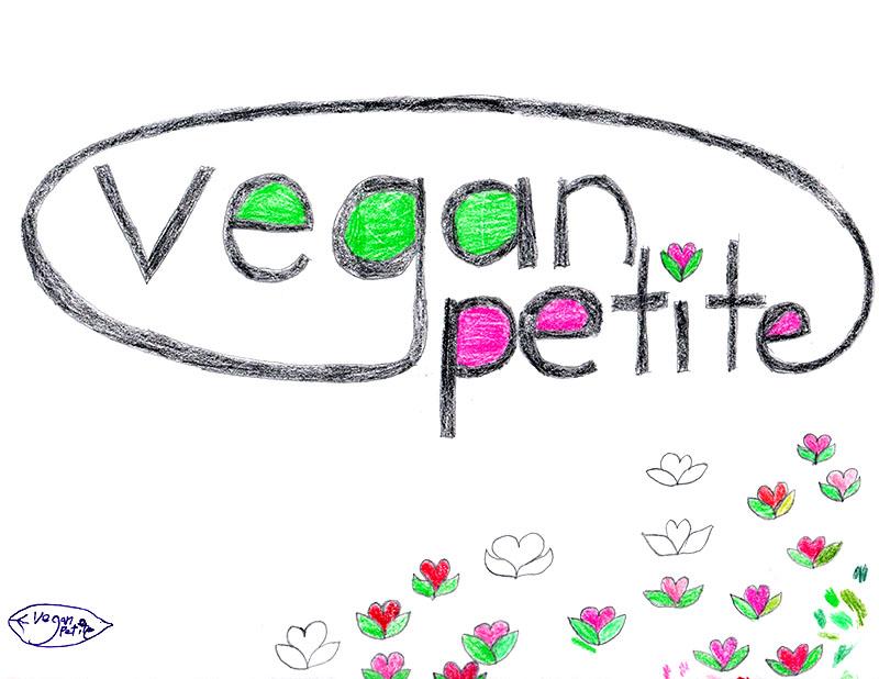 Vegan Petite logo process - Linda Albertini Web Design
