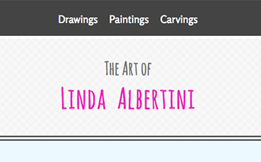 Art Portfolio - Linda Albertini Web Design